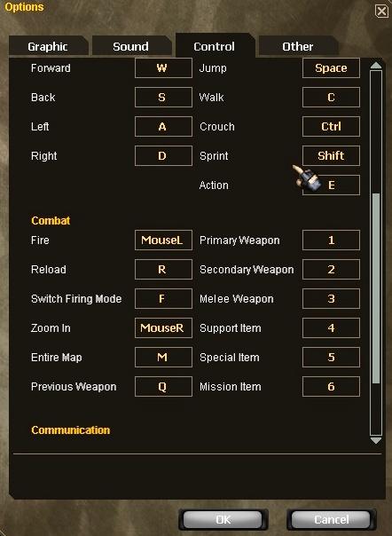Foto configuração do jogo 2
